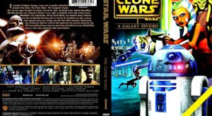Star Wars - The Clone Wars 01 - Season I dvd cover
