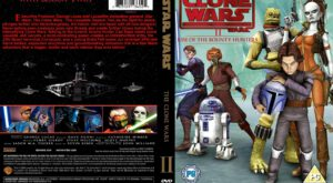Star Wars: The Clone Wars season 2 dvd cover