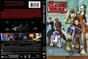 Star Wars: The Clone Wars season 2 dvd cover