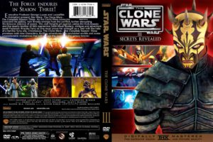 Star Wars: The Clone Wars season 3 dvd cover