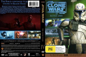 Star Wars: The Clone Wars season 4 dvd cover