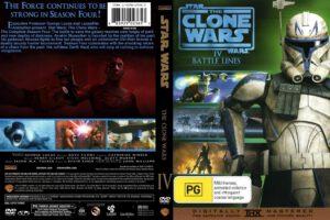 Star Wars: The Clone Wars season 4 dvd cover