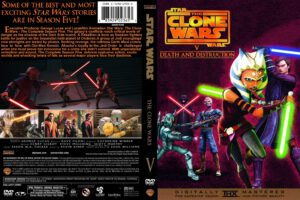 Star Wars: The Clone Wars season 5 dvd cover