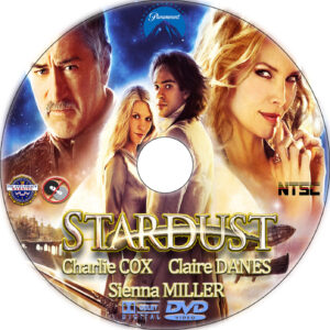 stardust dvd label