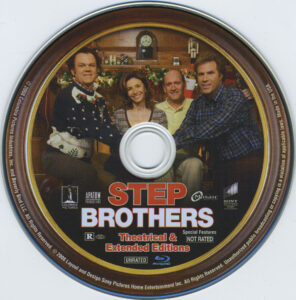 step brothers dvd label