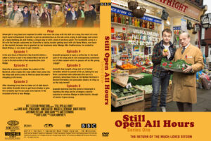 Still Open All Hours series one dvd cover