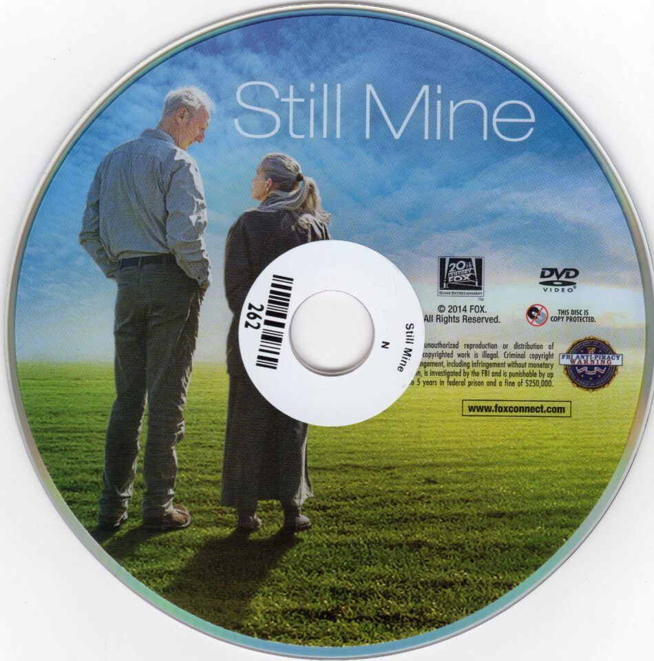 still mine dvd label