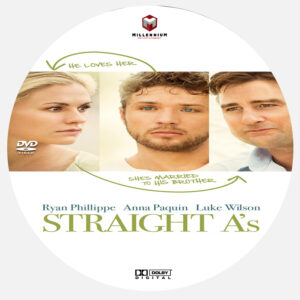 Straight A's dvd label