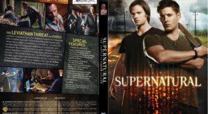 Supernatural season_8 dvd cover
