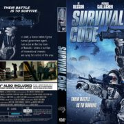 Survival Code (2013) R1 CUSTOM DVD COVER
