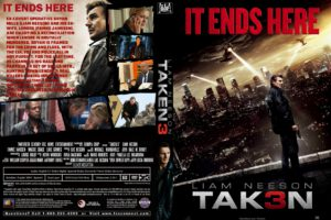 Taken 3 dvd cover