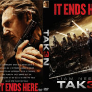 Taken 3 (2015) Custom DVD Cover