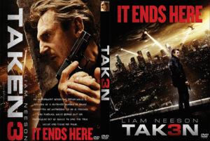 Taken 3 dvd cover