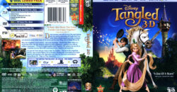 Tangled 3D (Blu-ray) dvd cover