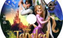 Tangled 3D (2010) Custom Blu-Ray DVD Label