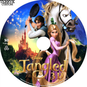 Tangled 3D Label (TK)