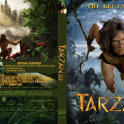 Tarzan (2014) Custom 3D Blu-Ray Custom Cover & Label