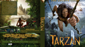 Tarzan Custom Cover dvd cover