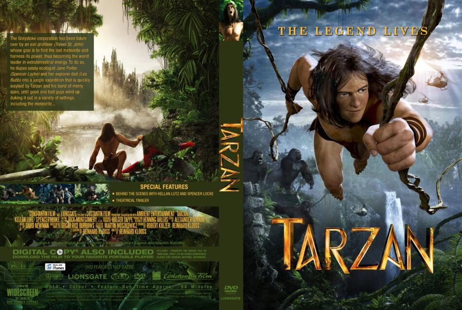 Tarzan Custom Cover dvd cover