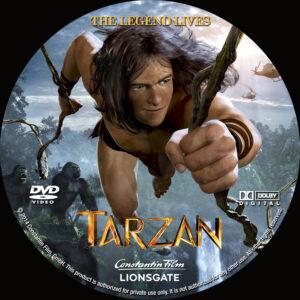 Tarzan custom label