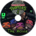 Teenage Mutant Ninja Turtles (1) (1990) Custom Label
