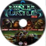 Teenage Mutant Ninja Turtles (2014) R1 Custom Label