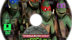 Teenage Mutant Ninja Turtles III dvd label