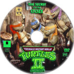 Teenage Mutant Ninja Turtles II: The Secret of the Ooze (1991) R1 Custom Label