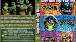 Teenage Mutant Ninja Turtles trilogy dvd cover