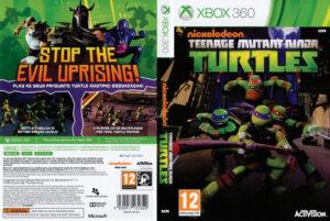 Teenage Mutant Ninja Turtles dvd cover