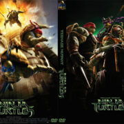 Teenage Mutant Ninja Turtles (2014) Custom DVD Cover