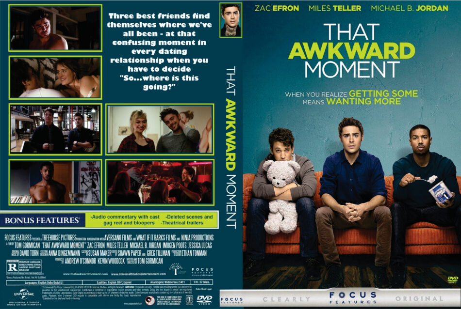 That Awkward Moment dvd cover