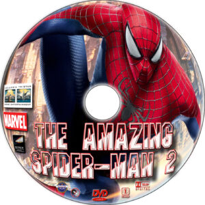 The Amazing Spider-Man 2 dvd label