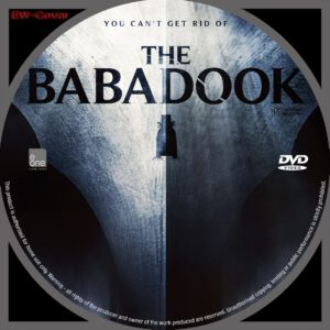 The Babadook dvd label