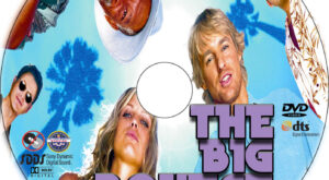The Big Bounce dvd label