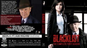 The Blacklist blu-ray dvd cover