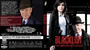 The Blacklist blu-ray dvd cover