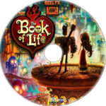The Book Of Life (2014) R1 Custom Label