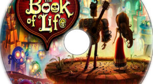 the book of life dvd label