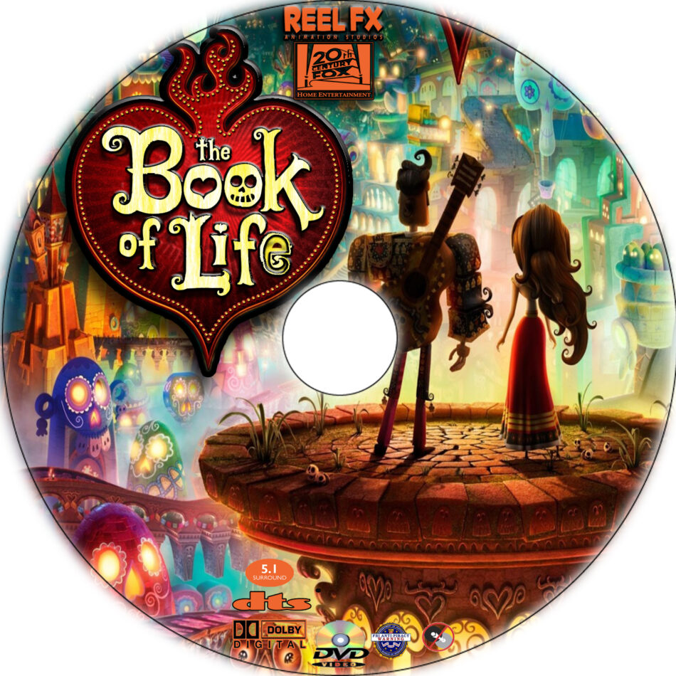 Book of life dvd at walmart