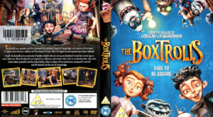 The Boxtrolls (2014) R2 dvd Cover