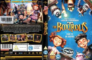 The Boxtrolls (2014) R2 dvd Cover