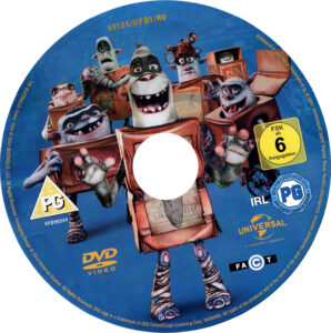 The Boxtrolls (2014) R2 Disc