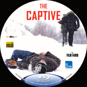 The Captive blu-ray dvd label