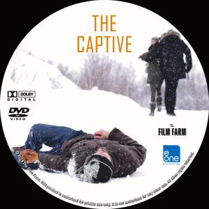 The Captive dvd label