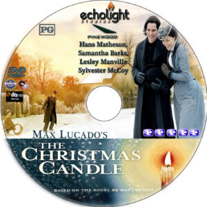 The Christmas Candle dvd label