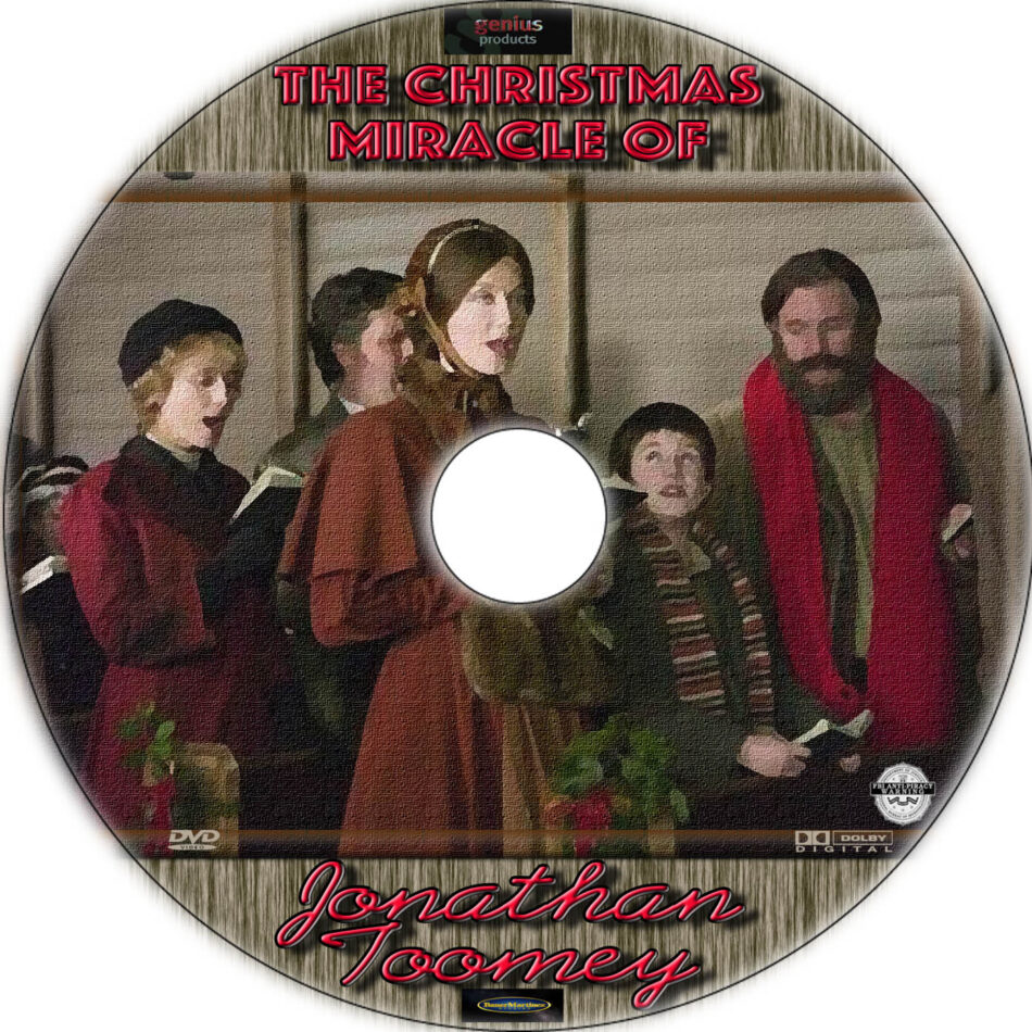 The Christmas Miracle of Jonathan Toomey cd cover