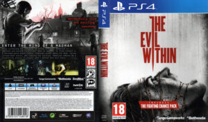 The Evil Within ps4 dvd cover