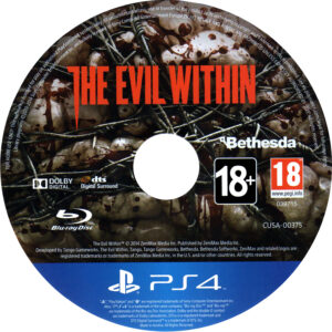 The Evil Within_PS4 dvd label