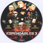 The Expendables 3 (2014) Custom DVD Label